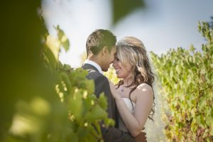 Bridal Couple - Mornington Peninsula Winery