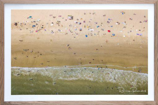 Aerial Artwork - Beach Life