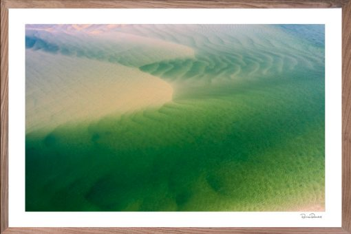 Green Abstract - Aerial Art Work