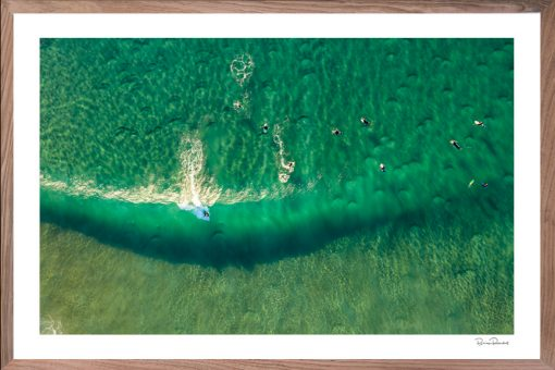 Surf's Up - Aerial Art Work