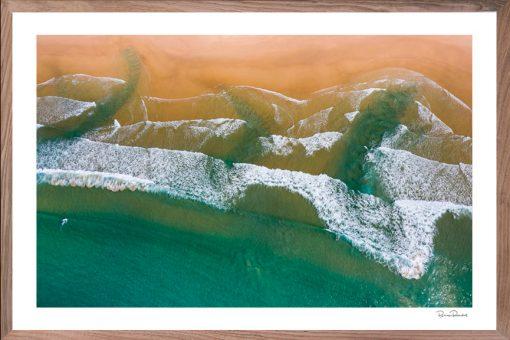 Three Rips - Aerial Art Work